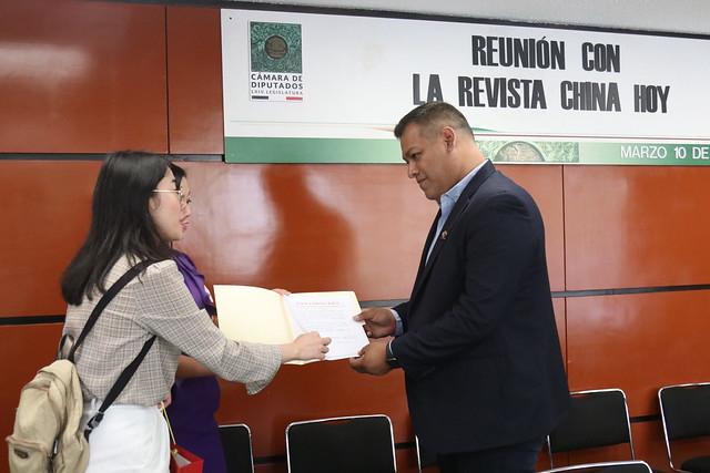 """10/03/2020 Grupo de Amistad México-China reunión con """"China Hoy"""""""