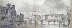 Le pont de l'Archevêché à Lyon (Cité de l'architecture, Paris)
