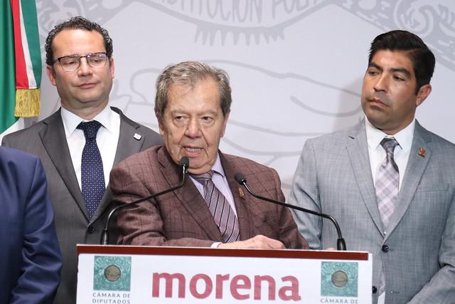 11/03/2020 Conferencia de Prensa Diputado Porfirio Muñoz Ledo