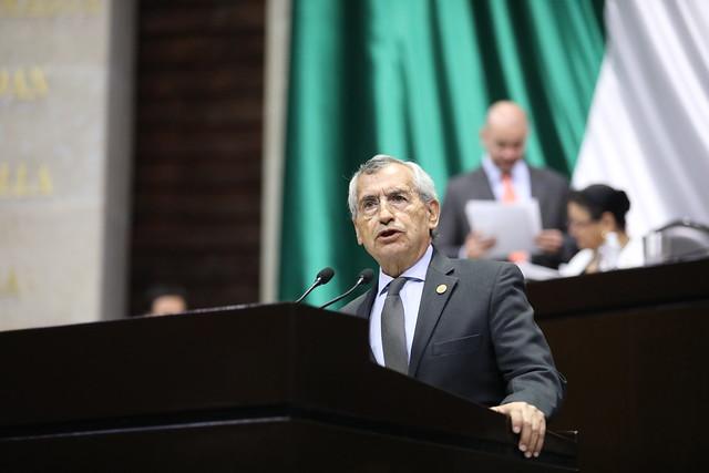 12/03/2020 Tribuna Dip. Raúl Eduardo Bonifaz Moedano