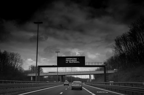 E411 Belgium / Luxembourg Borders