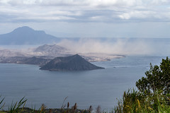 After the Eruption, Taal Volcano, Philippines