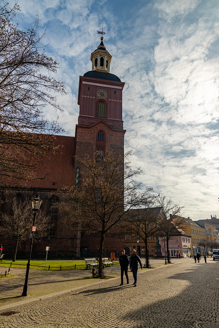 Die Spandauer Nikolaikirche