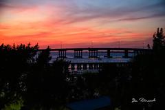 Sunset Manatee River Railroad Bridge - Bradenton FL