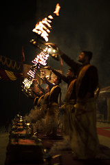 evening aarti, Varanasi