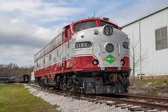 Iowa Pacific SLRG 103 (EMD E9) Batesville, Mississippi