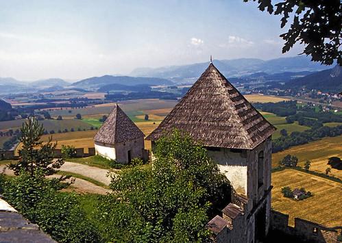 Hochosterwitz view