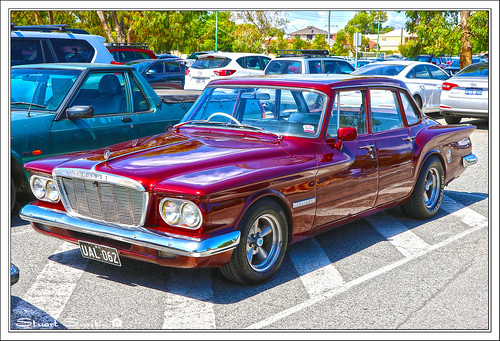 1962 Chrysler Valiant RV1, 2020 Classic Car Show, Ascot Racecourse, Grandstand Road, Ascot, Perth, Western Australia