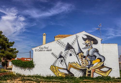 Graffiti - Mota del Cuervo