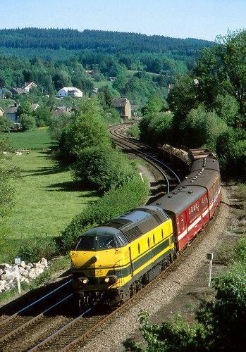 NMBS 5525 @ Grand Halleux