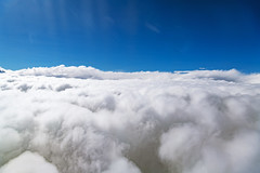 A layer of clouds