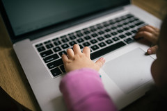 Monitoring of school teaching online.