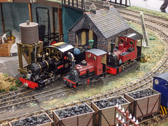 Locos on shed