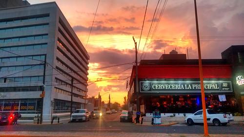 Peach sky @ Aguascalientes