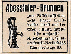 1927 ad for pumps