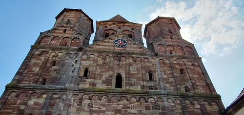 883 France - Alsace - Marmoutier, église abbatiale Saint-Etienne