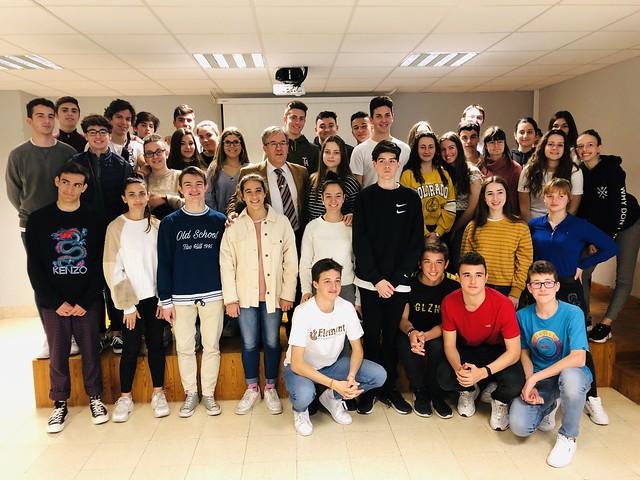 Charla sobre la Institución en el Colegio Condes de Aragón