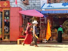 བོད་པ་ Tibetans - Barkhor Street