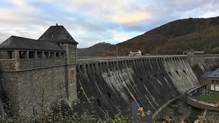 Eder dam wall in Hefurth