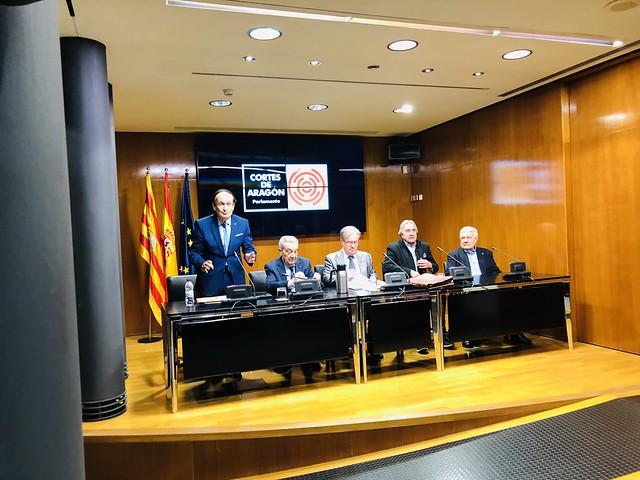 Charla en Asociación de Exparlamentarios