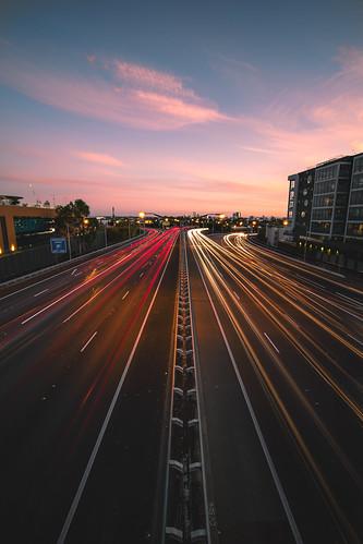 Mitchel Freeway - Perth, Western Australia