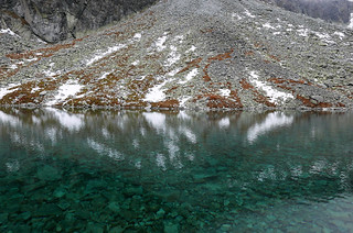 Beautiful cristal clear mountain lake