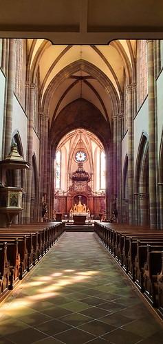 887 France - Alsace - Marmoutier, église abbatiale Saint-Etienne