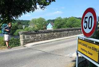 Entering Erpeldange Sur