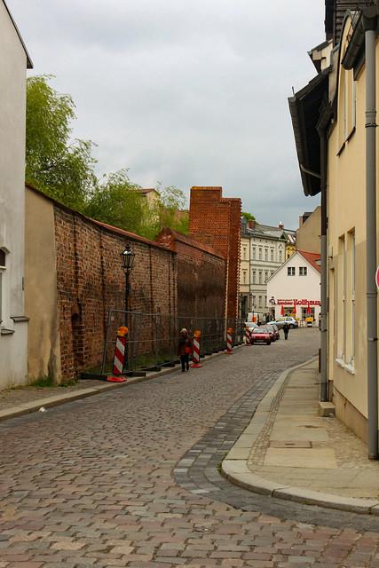 An der Spandauer Stadtmauer