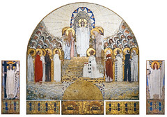 Projet de mosaïque de Koloman Moser pour l'église Saint-Léopold am Steinhof (Cité de l'architecture, Paris)