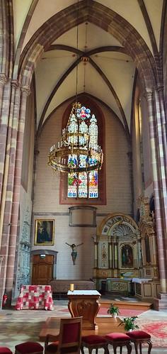889 France - Alsace - Marmoutier, église abbatiale Saint-Etienne