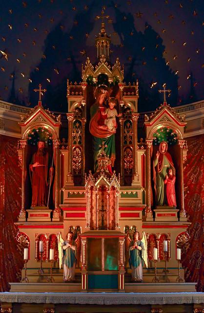 In der Kirche St. Marien in Spandau