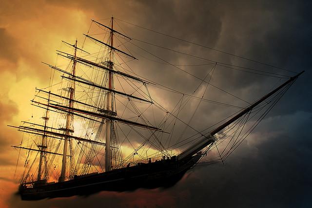 Le vaisseau perdu