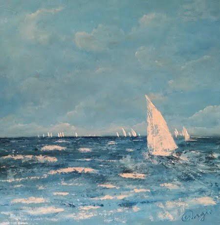 Blue sailer