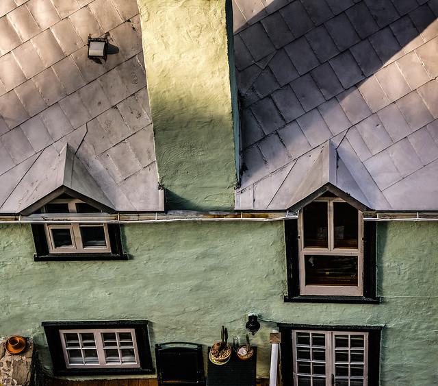 Lumière sur le toit