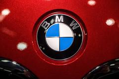 BMW logo close-up