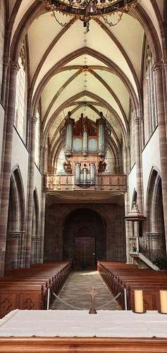 891 France - Alsace - Marmoutier, église abbatiale Saint-Etienne