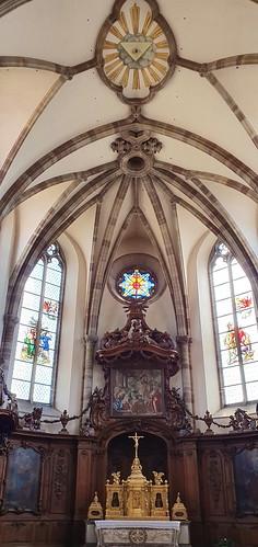 890 France - Alsace - Marmoutier, église abbatiale Saint-Etienne