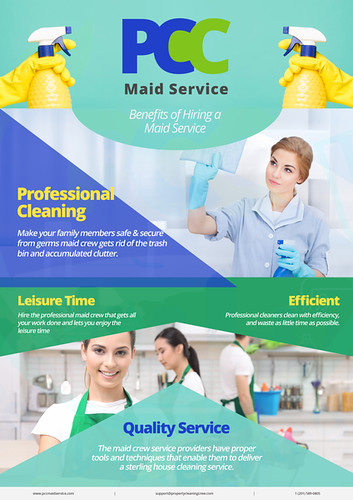 Benefits of Hiring The Maid Crew Service