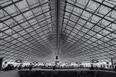 CDG Terminal 2F in symmetry