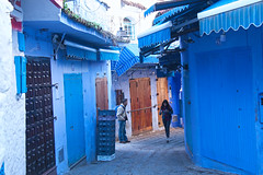 Blue City, Chefchaouene, Morocco, 摩洛哥