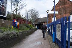 Cricklewood Station Entrance