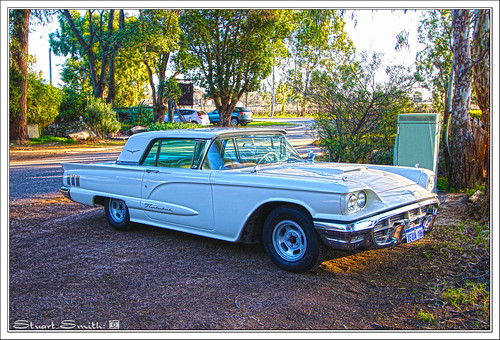 1960 Ford Thunderbird, George Road, Middle Swan, Swan Valley, Perth, Western Australia