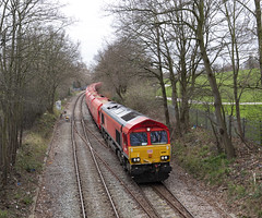 Dudding Hill Line, Goods Train through Gladstone Park