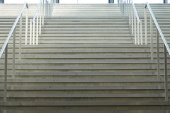 Stairs @ Train station @ Les Eaux-Vives @ Geneva