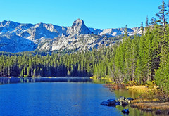 Crystal Crag above Twin Lakes, Mammoth Lakes CA 2015