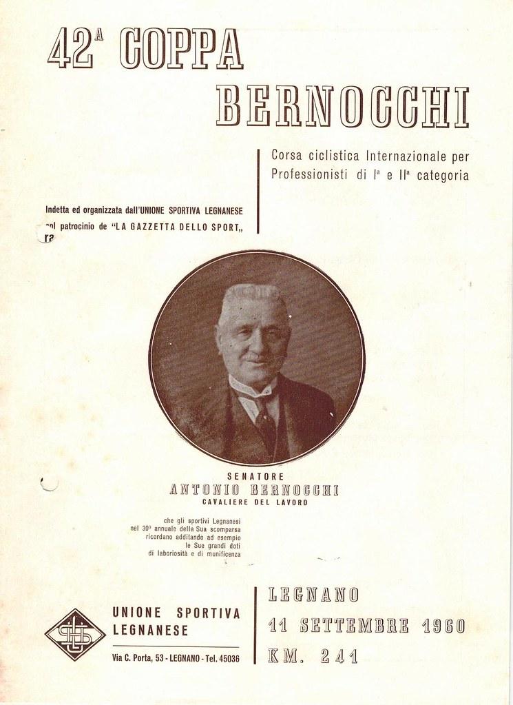 42° Coppa Bernocchi 1960