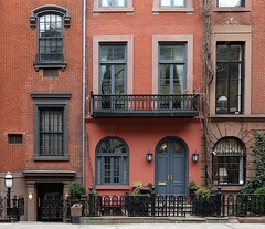 Along West 9th Street, Greenwich Village, New York