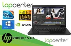 HP ZBOOK 15G2 i7-4900QM 4GB RAM 500HDD Quadro K2000M FHD WIN10PRO