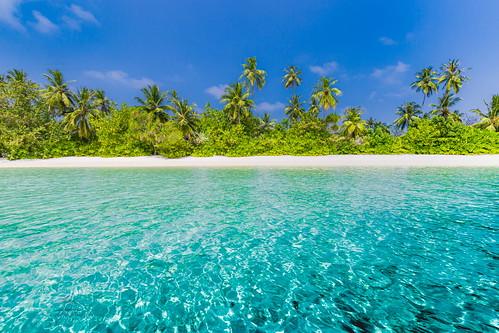 Azure blue lagoon